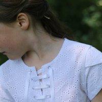 [Top Charline] La petite blouse en broderie anglaise