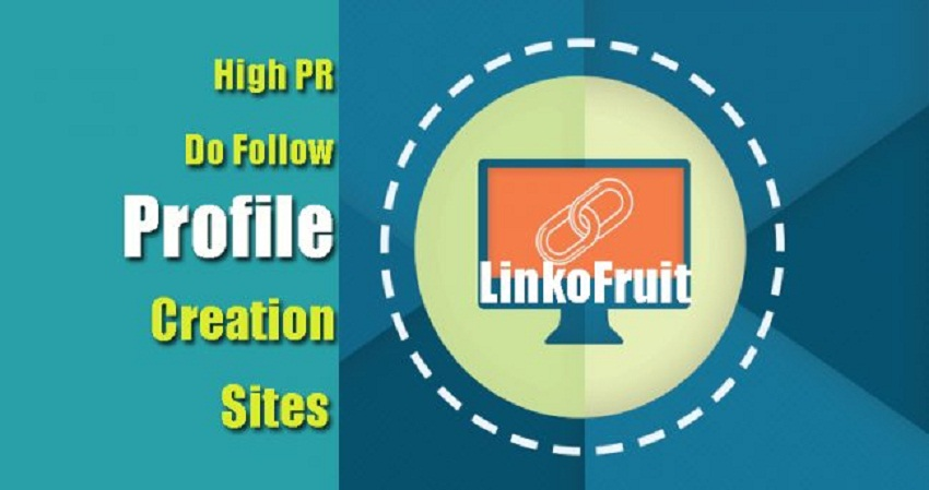 BEST HIGH PR DO FOLLOW PROFILE CREATION SITES LIST