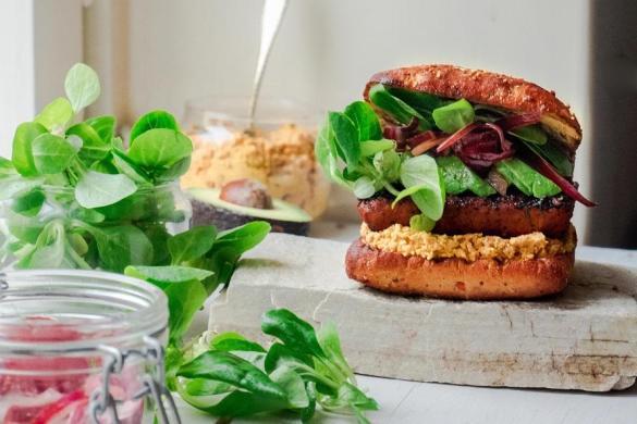 Terveellisemmät tofuburgerit (V)