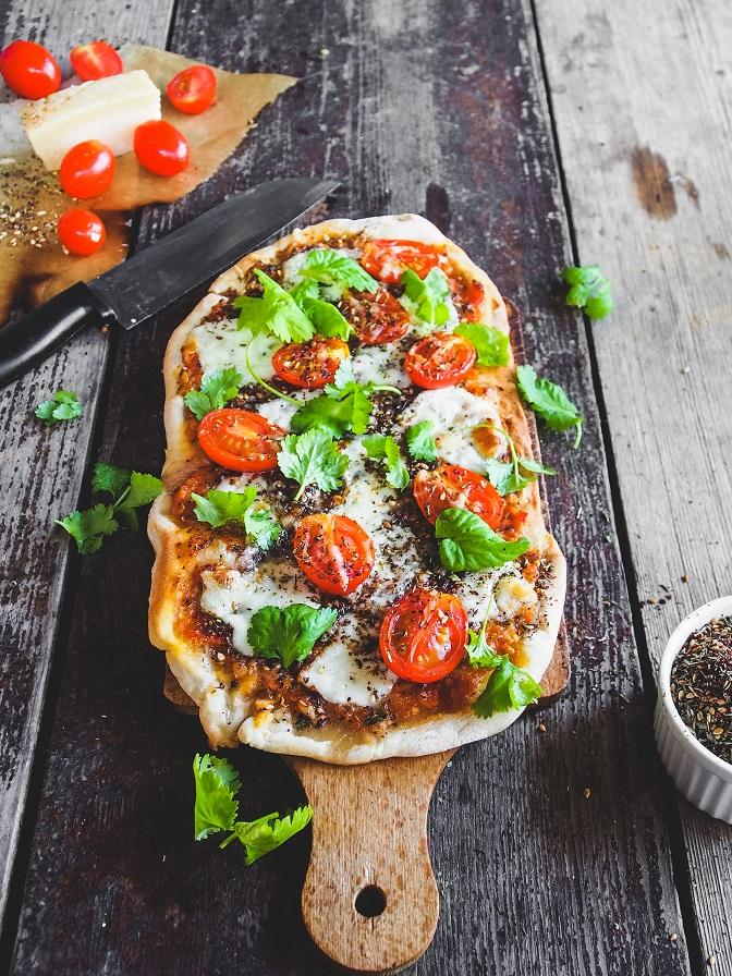 Za'atar Pizza Margarita