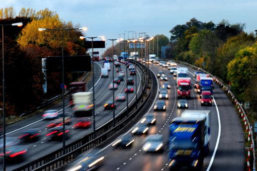 Speeding on motorways