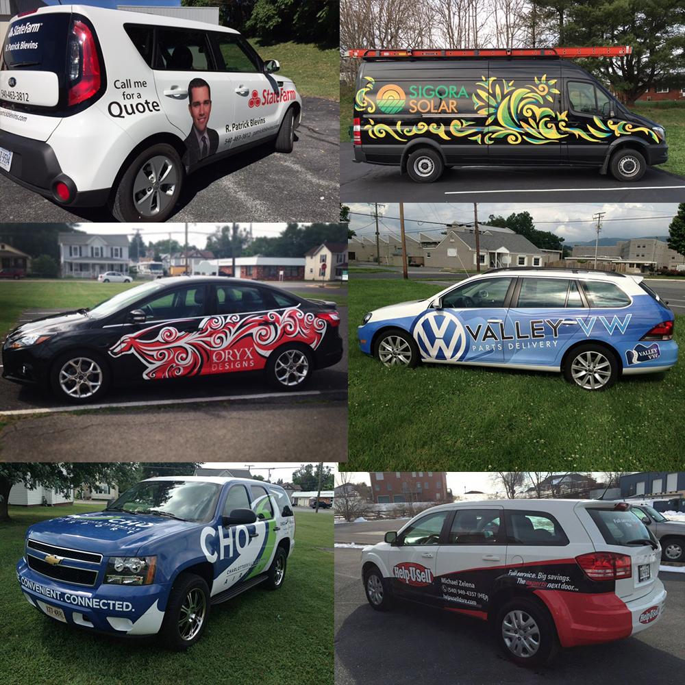 vehicle wrap vehicle graphics