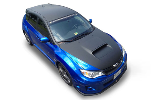 killer b subaru vehicle wrap viking forge design