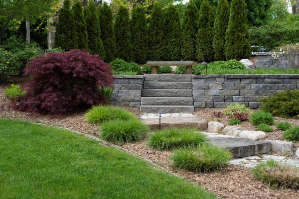 bay area retaining walls landscaping design