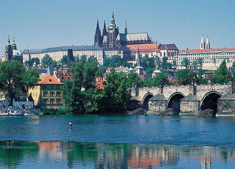 Melnik & Prague Hradcany Castle, Czech Republic