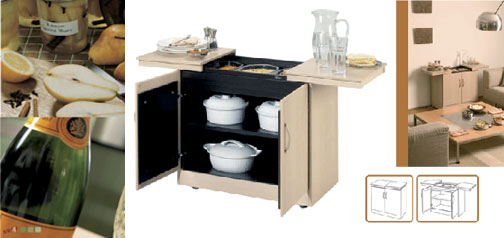 Laminate Buffet Cart