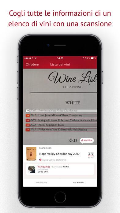 Vivino: l'app per riconoscere tutti i tipi di vino 4