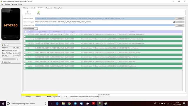 Aggiornamento Bluboo S3 ad Android 8.1 12