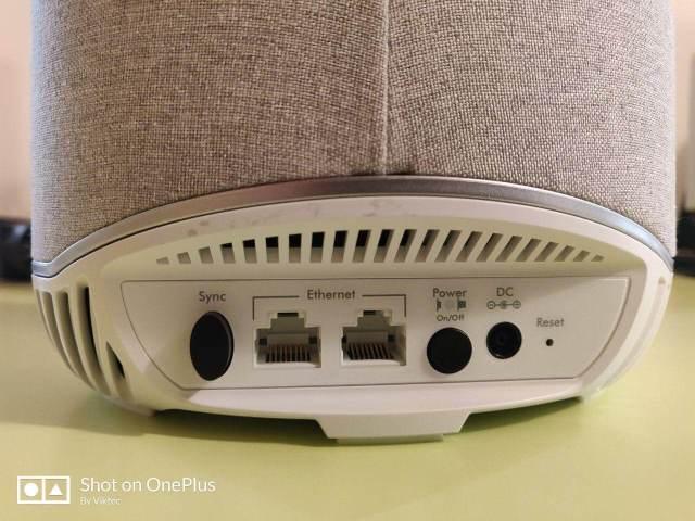 Recensione Netgear RBS40V Orbi Voice 2