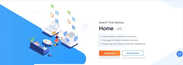 EaseUS Todo backup Home: un programma che salva tutto 2
