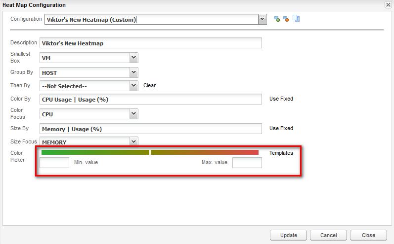 Create a custom heat map using vCenter Operations 5 x