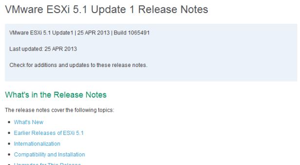 Upgrading to vSphere 5.1 Update 1? First check interoperability!