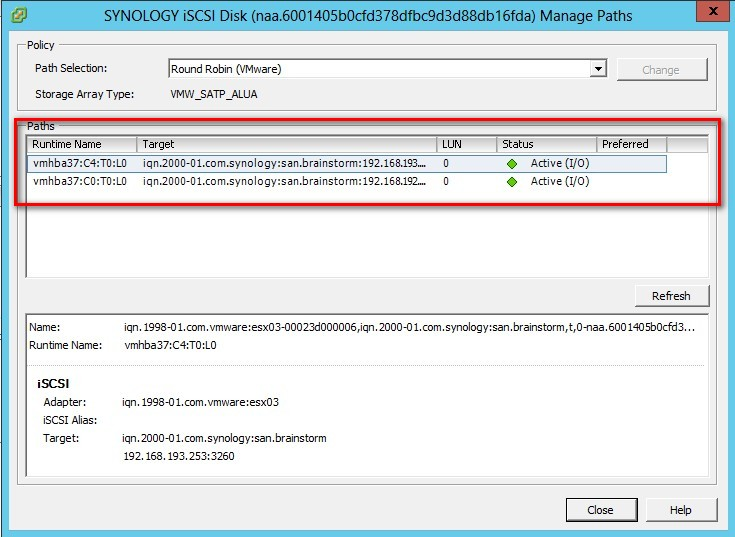 Testing vSphere 5 and Synology DS412+ – VAAI support included