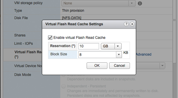 Introducing Flash Read Cache to my lab - HP N36L