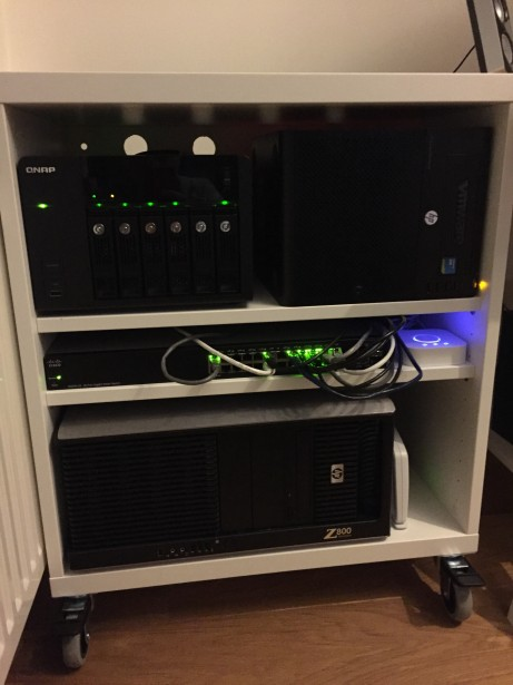 Homelab update: introducing IKEA Besta 23 5/8″ datacenter rack