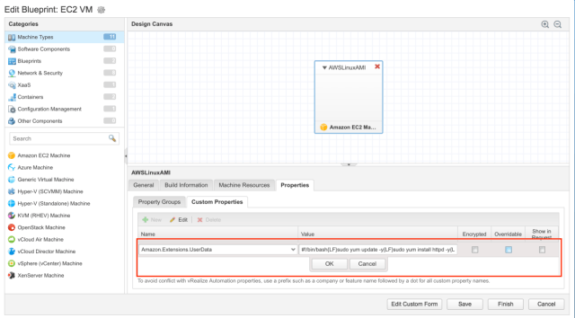 A first look at the new vrealize automation 74 aws user data a first look at the new vrealize automation 74 aws user data feature viktorious virtualization cloud management malvernweather Images