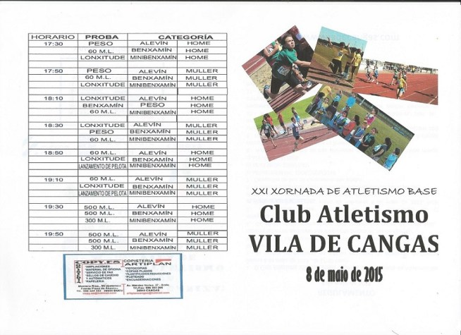 ATLETISMO BASE - CARA A
