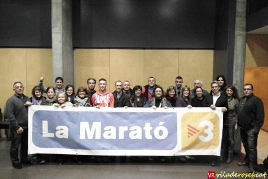 """Foto de família dels assitents a la """"Postmarató"""""""