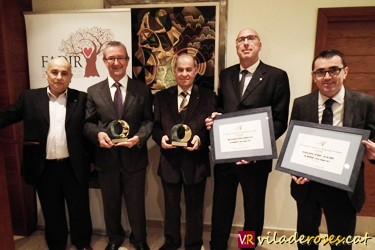 Manel Pons, Carles Pàramo, Josep De Frutos, Ferran Roqué i Miquel Gotanegra