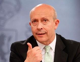 El ministre d'Educació José Ignacio Wert