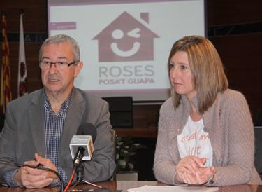 L'alcalde Carles Pàramo i la regidora d'Urbanisme Sívia Ripoll