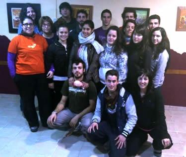 Joves participants del Curs de Lleure Infantil i Juvenil