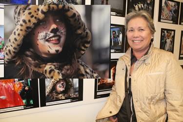 Roser Llambrich, 1ª classificada del concurs de fotografía del Carnaval 2013 amb la seva imatge Carnaval 2013