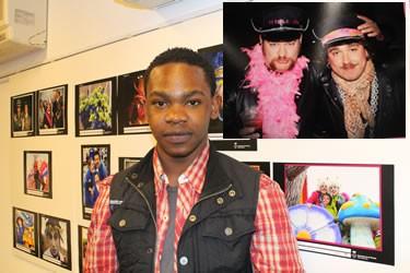 Jacob Aklen,3º classificat del concurs de fotografía del Carnaval 2013 amb la seva imatge Titola d'or
