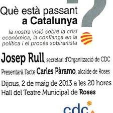 Conferència Josep Rull