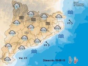 Setmana de xàfecs i tempestes