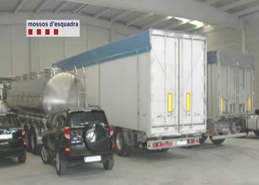 Camions i vehicles robats