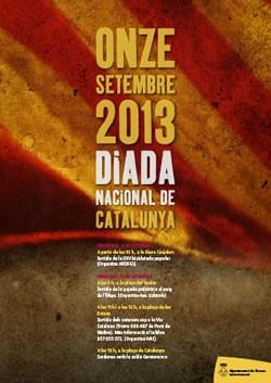 Diada Nacional de Catalunya a Roses