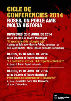 Cicle de conferències 'Roses, un poble amb molta història'