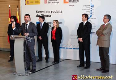 Nou servei de rodalia de Girona