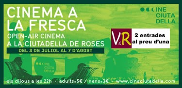 Viladeroses.cat i Cine Ciutadella