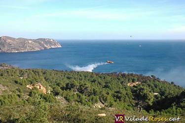 Incendi al Parc Natural de Cap de Creus