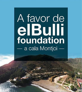 A favor de elBulli Foundation