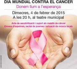 Dia Mundial contra el càncer