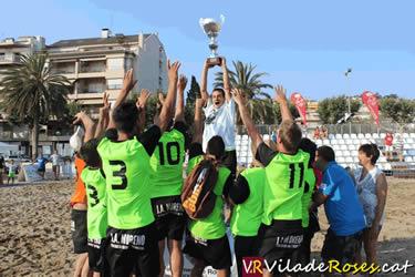 Campionat Futbol Platja de Vila de Rose