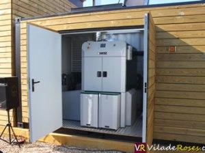 Caldera de biomassa