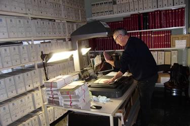 Digitalització de llibres notarials