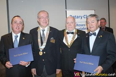 Distinció Paul Harris del Club Rotary Roses-Costa Brava