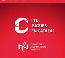 """Campanya """"I tu, jugues en català?"""""""