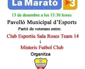 El Futbol Sala de Roses amb La Marató de TV3
