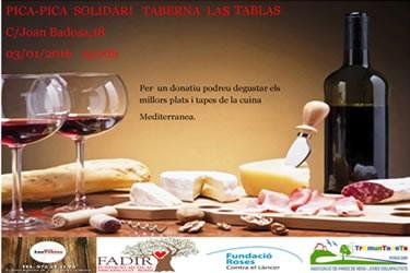 Pica-pica solidari al restaurant Las Tablas
