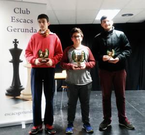 Oliver Pérez campió de Girona d'escacs