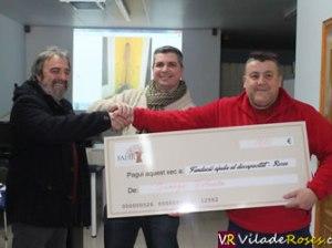 Donació de Juanjo Viñuela a FADIR