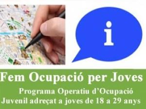 """Programa """"Fem Ocupació per Joves"""""""