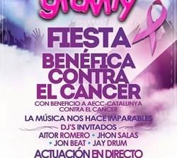 Festa contra el càncer a Gravity