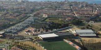 Central de biomassa a la zona esportiva del Mas Oliva de Roses